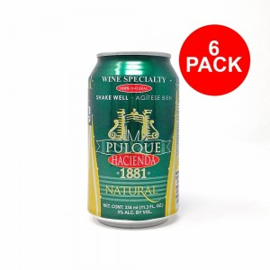 "Pulque Natural ""Hacienda 1881"" Six Pack (2 L)"