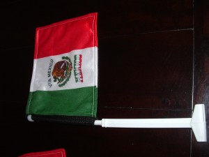 Mexicaanse auto flag
